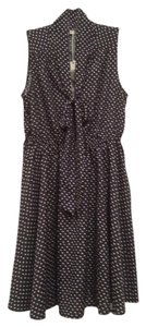 Ya Los Angeles short dress Navy Sleeveless Tie on Tradesy