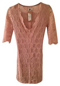 Nightcap Scalloped Lace Stretchy Dress