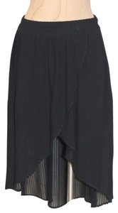 Kimchi Blue High Low Skirt BLACK