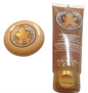 Body Central Body shop ginger sparkle body polish & soap