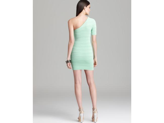 Torn by Ronny Kobo Bodycon One Shoulder Dress Image 4