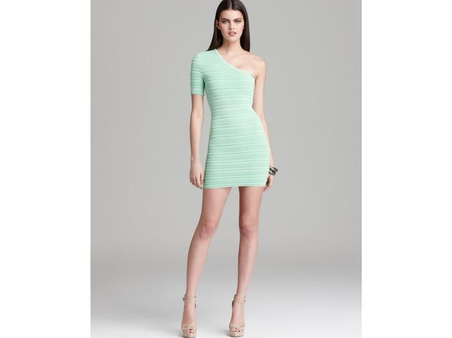 Torn by Ronny Kobo Bodycon One Shoulder Dress Image 5