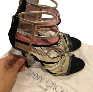 Jimmy Choo Black suede Sandals