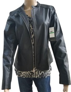 Calvin Klein Collection Zip Hand Fully Lined Motorcycle Motorcycle Jacket