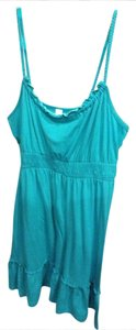 No Boundaries short dress Turquoise on Tradesy