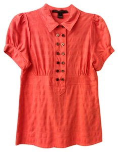 Marc by Marc Jacobs Top Coral