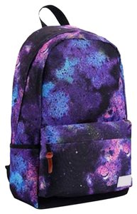 OASAP Pink Brown Purple Printed School Backpack