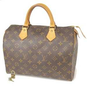 Louis Vuitton Speedy 30 Satchel in Brown