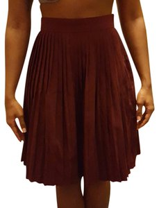 American Apparel Skirt Burgundy
