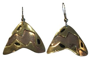 Other Mexican Artisan Copper and Brass Contemporary Earrings