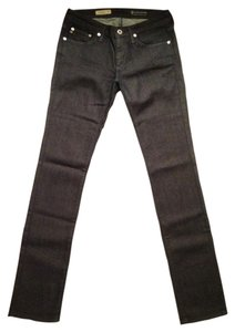 AG Adriano Goldschmied Stevie Anthropologie Straight Leg Jeans-Dark Rinse