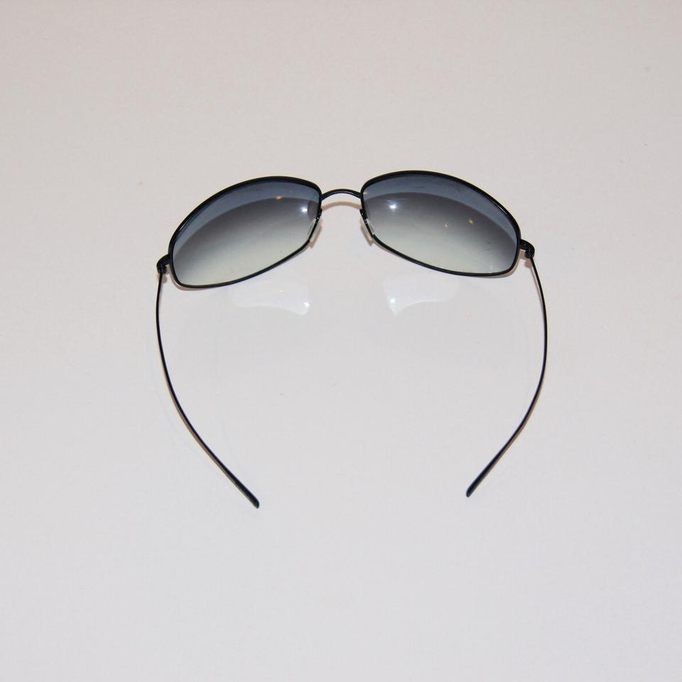 Oliver Peoples Black Divine Wire Frame Sunglasses - Tradesy