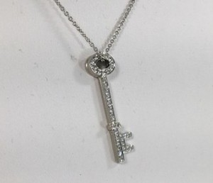 Tiffany & Co. Tiffany & Co. Oval Key Pendant and Chain