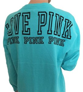PINK Small Victoria's Secret Varsity Crew Tunic