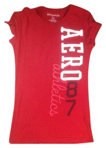 Aeropostale T Shirt Red