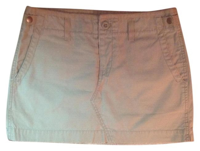 American Eagle Outfitters Mini Skirt Nude