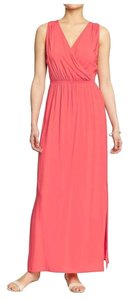 Coral Maxi Dress by Old Navy