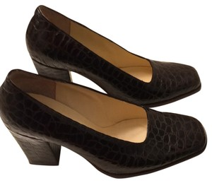 Free Life Dark Brown Pumps
