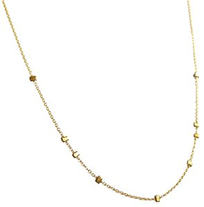 Elliot Francis Gold Nugget Necklace