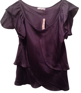 Violet & Claire Top Dark Grey/Plum