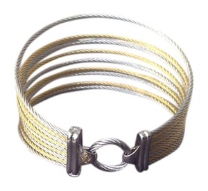 Charriol CHARRIOL 18K CABLE BANGLE
