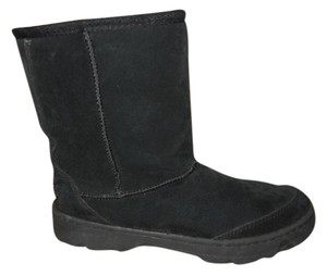 Skechers Leather black Boots