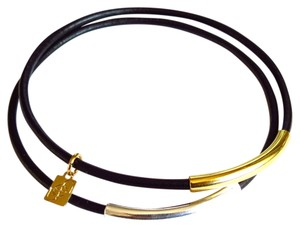 Elliot Francis Leather Bangle set