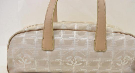 Chanel Travel Beiges Tote Satchel Image 4