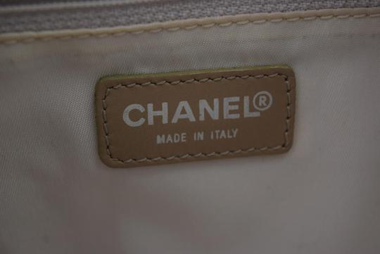 Chanel Travel Beiges Tote Satchel Image 7
