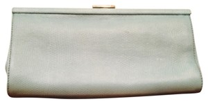 Banana Republic Turquoise Easter Teal Clutch