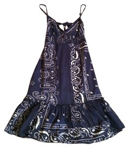 Guess short dress Navy And White on Tradesy