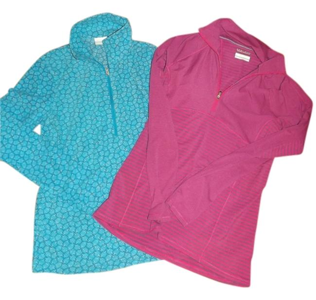 Item - Blue and Pink Activewear Top Size 8 (M, 29, 30)
