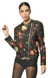 Givenchy Floral Biker Fashion Motorcycle Jacket