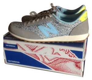 New Balance Gray, blue, yellow Athletic