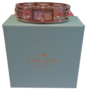 Kate Spade New! Kate Spade Rose Gold Diamond Bangle Watch