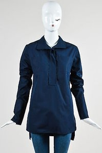 Marni Navy Cotton Tunic