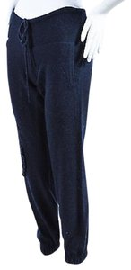 Barrie Pace Cashmere Knit Textured Drawstring Jogging Pants