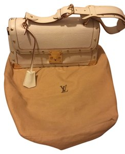 Louis Vuitton Vintage Goatskin Leather Shoulder Bag