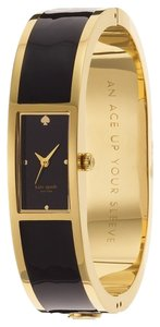 Kate Spade New! Kate Spade Black Carousel Stainless Steel Bangle Watch