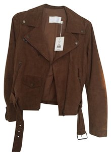 W118 by Walter Baker Neutral Leather Jacket