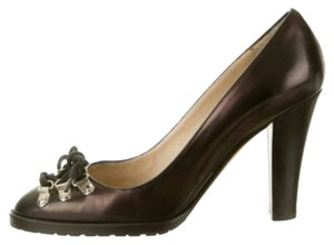 Michael Kors Leather Brown Pumps