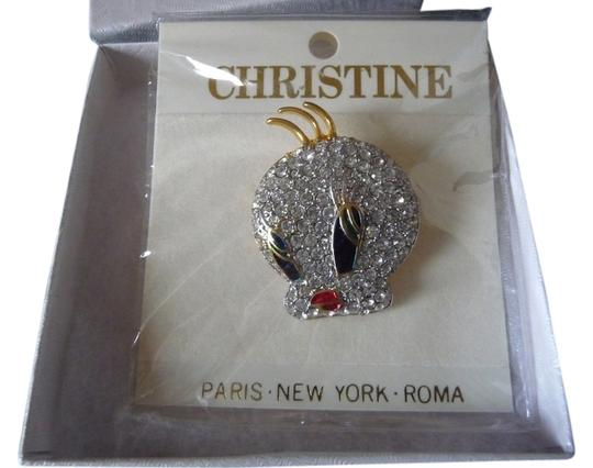 Other Rhinestone Tweety Bird Brooch