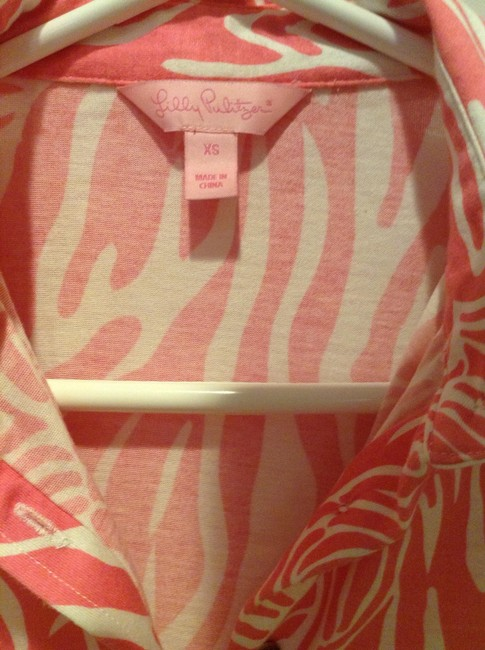 Lilly Pulitzer Top Hibiscus Pink