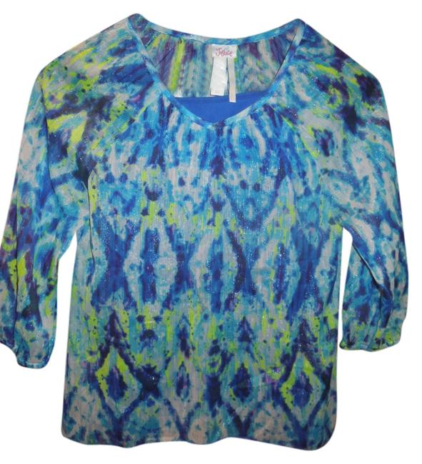 Preload https://img-static.tradesy.com/item/1168490/justice-blue-blouse-size-16-xl-plus-0x-0-0-650-650.jpg
