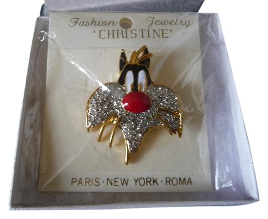 Other Rhinestone Sylvester Brooch