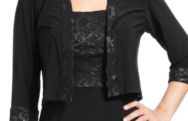 Patra Jacket Metallic Lace Dress