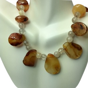 Artistry Genuine stones handmade necklace