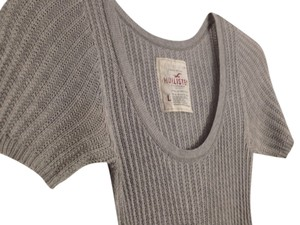Hollister Cotton Comfortable T Shirt Grey
