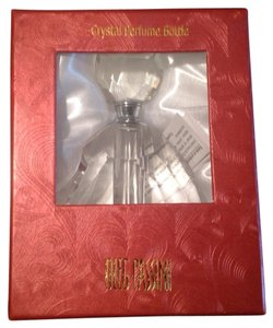 Oleg Cassini New Gift Boxed Crystal Perfume Bottle
