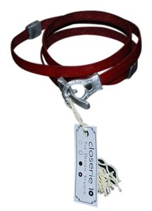Closerie 10 Skinny Leather Belt